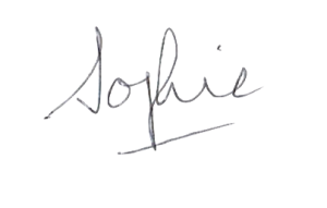 Sophie signature transparent