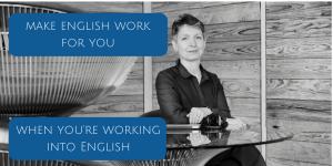 Make English work for you image