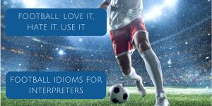 Football idioms blog post