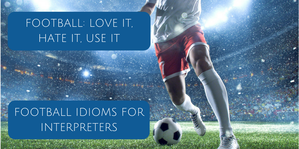 Football idioms blog post