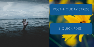 Post-holiday stress blog post