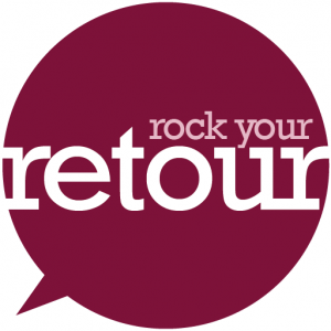 Rock your retour logo colour
