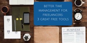 3 top time management tools blog post